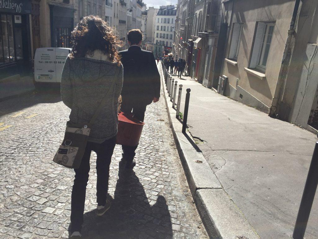 """Kato Nigra - Videodreh zu """"Krawattenmann"""" in Paris"""