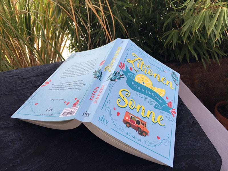 """Katrins neues Buch """"Zitronensonne"""" ist erschienen"""